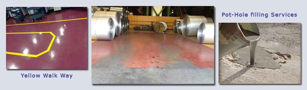 Heavy Duty Epoxy Flooring Services : Epoxy coating system